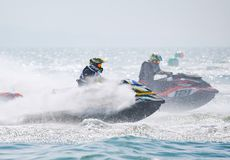 Jet Ski World Cup 2017 in Tailandia Immagine Stock