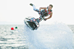 Jet Ski World Cup 2014 in Thailand Royalty-vrije Stock Afbeelding