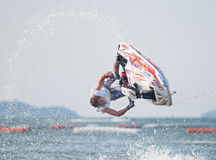 Jet Ski World Cup 2014 in Thailand Royalty-vrije Stock Afbeelding