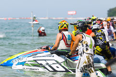Jet Ski World Cup 2014 in Thailand Stock Images
