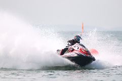 Jet Ski World Cup 2014 in Thailand Stock Photo