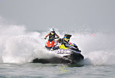 Jet Ski World Cup 2014 in Thailand Stock Photos