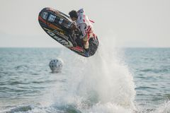 Jet Ski World Cup 2017 in Thailand Stock Image