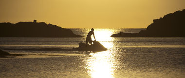 Jet skier Royalty Free Stock Images