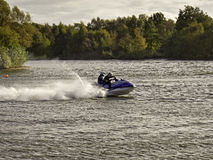 Jet skiers, Southport Stock Photos