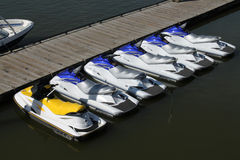Jet skies Stock Photography