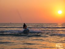 Jet Skiing stockbild