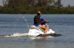 Jet Skiing Stock Photos