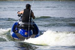 Jet Skiing Stock Photography