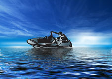 Jet Skiing 4 Royalty Free Stock Images