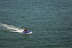 Jet Skiing Family Stock Photos