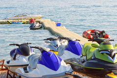 Jet skis Stock Image