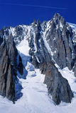 Jet streak over Mt. Blanc Stock Image