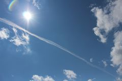 Free Jet Stream 2 Stock Images - 165350414