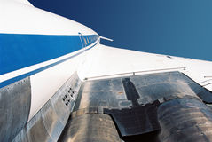Jet supersonico Tu-144 immagine stock libera da diritti