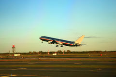Jet takeoff Royalty Free Stock Photography