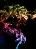 Stream smoke. Royalty Free Stock Photo