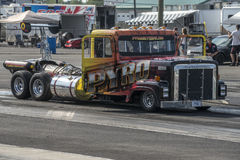 Jet truck Stock Photo
