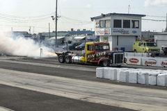 Jet truck start Royalty Free Stock Photography