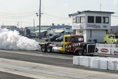Jet truck start Stock Photography