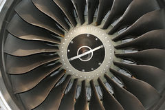 Jet turbine Royalty Free Stock Image