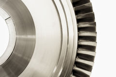 Jet turbine blades Royalty Free Stock Photo