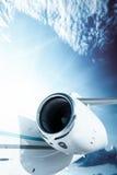 Jet turbine, detail Stock Photos