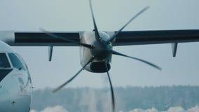 Jet-Turbinentriebwerk stock video footage