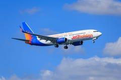 Jet2 Vakantie Stock Afbeelding