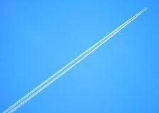 Jet Vapour Trail Stock Photos