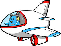 Jet Vector Illustration Royalty Free Stock Photography