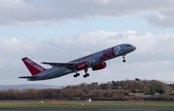Jet2 vias aéreas Boeing 757 Imagem de Stock Royalty Free