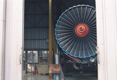 JET Warehouse lizenzfreies stockfoto