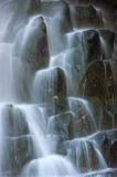 Jet waterfall Unexpected. Royalty Free Stock Images