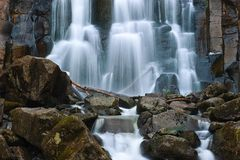 Jet waterfall Unexpected. Royalty Free Stock Photos