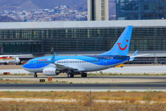 Jetairfly Boeing taxiing Royalty Free Stock Images