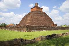 Jetavana Dagoba σε Anuradhapura Στοκ Εικόνες