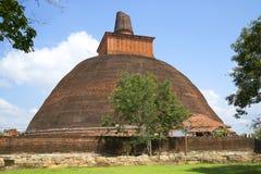 Jetavana Dagoba closeup. Anuradhapura, Sri Lanka Stock Images