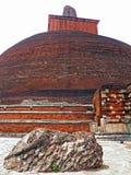 Jetavana Pagoda in Anuradhapura, Sri Lanka. The Great Stupa of Jetavana in Sri Lanka Royalty Free Stock Images