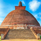 Jetavanaramaya dagoba Royalty Free Stock Photo