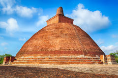 Jetavanaramaya dagoba Royalty Free Stock Images