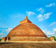 Jetavanaramaya dagoba Royalty Free Stock Photography