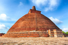 Jetavanaramaya dagoba Royalty Free Stock Photos