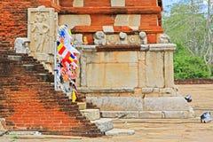 Jetavanaramaya Stupa, Sri Lanka UNESCO World Heritage Royalty Free Stock Photos