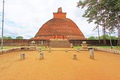 Jetavanaramaya Stupa, Sri Lanka UNESCO World Heritage Stock Photo