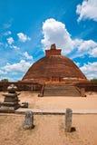 Jetavaranama dagoba (stupa) stock photography
