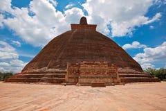 Jetavaranama dagoba (stupa) stock images