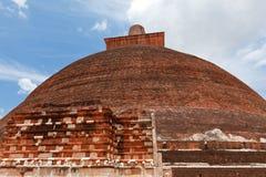 Jetavaranama dagoba  (stupa) Royalty Free Stock Images