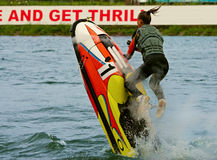 Jetbike trick Royalty Free Stock Image