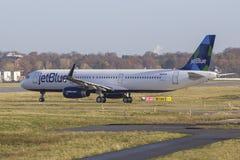 JetBlue空中客车A321 免版税库存照片